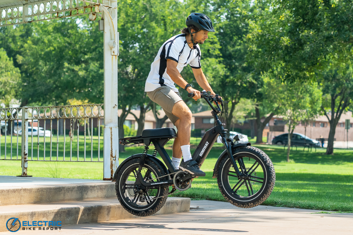Himiway Escape Electric Bike Review handling