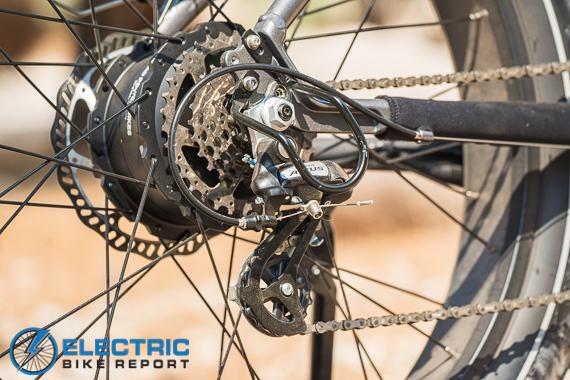 Rad Power Bikes Rad Rover 6 Plus Electric Bike Review Altus Drivetrain