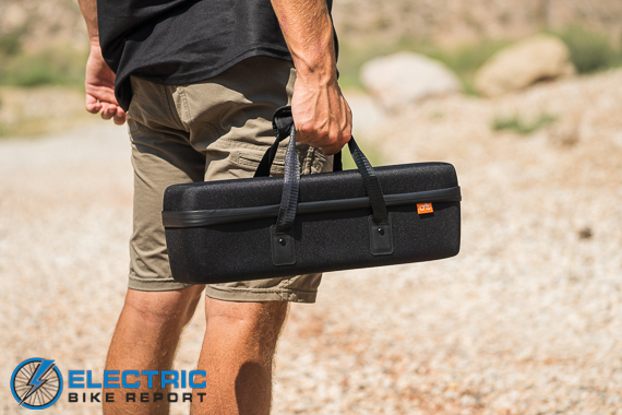 Rad Power Bikes Rad Rover 6 Plus Electric Bike Review Battery Carrying Case