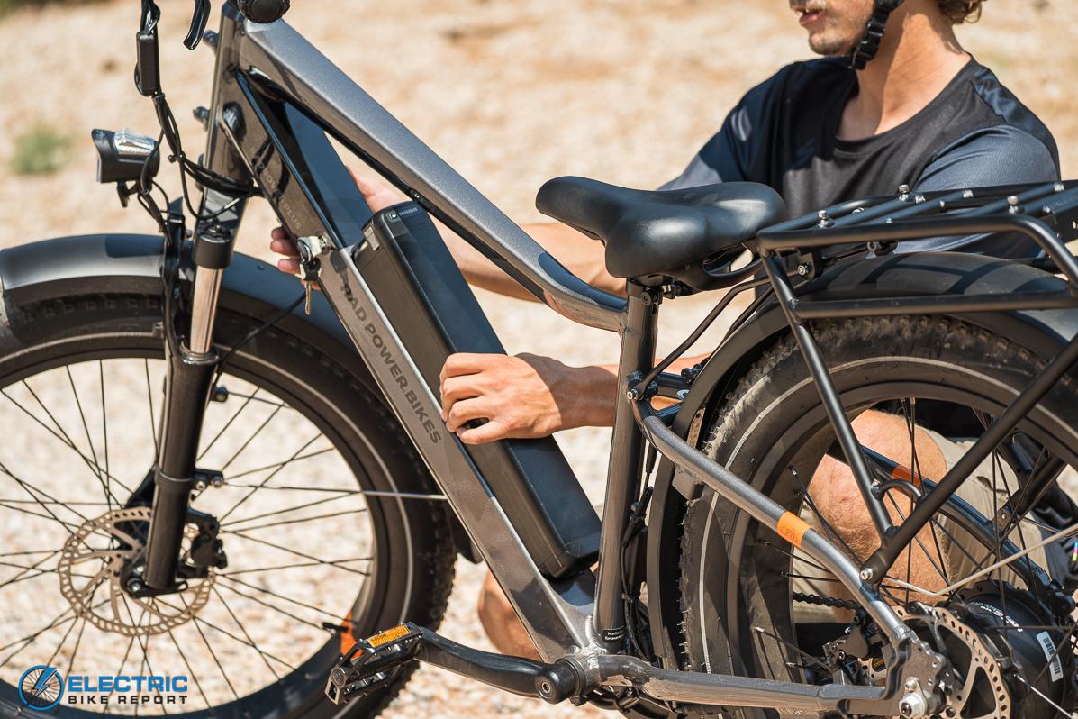 Rad Power Bikes Rad Rover 6 Plus Electric Bike Review Battery Input