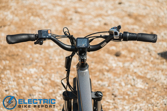 Rad Power Bikes Rad Rover 6 Plus Electric Bike Review Cockpit POV