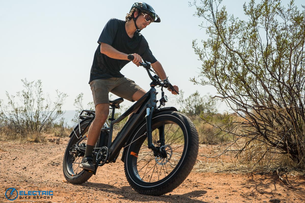Rad Power Bikes Rad Rover 6 Plus Electric Bike Review Cornering