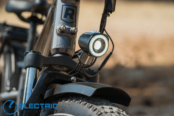 Rad Power Bikes Rad Rover 6 Plus Electric Bike Review Headlight