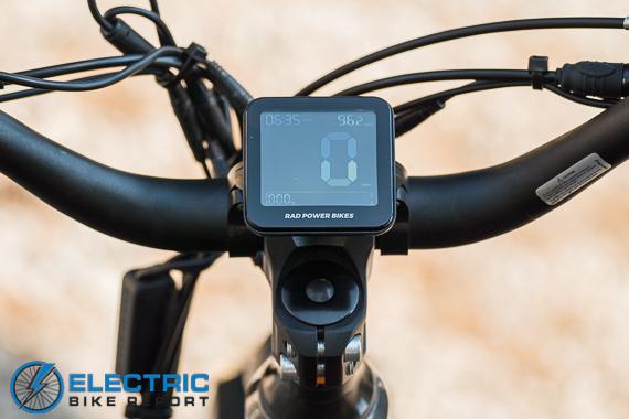 Rad Power Bikes Rad Rover 6 Plus Electric Bike Review Main Display