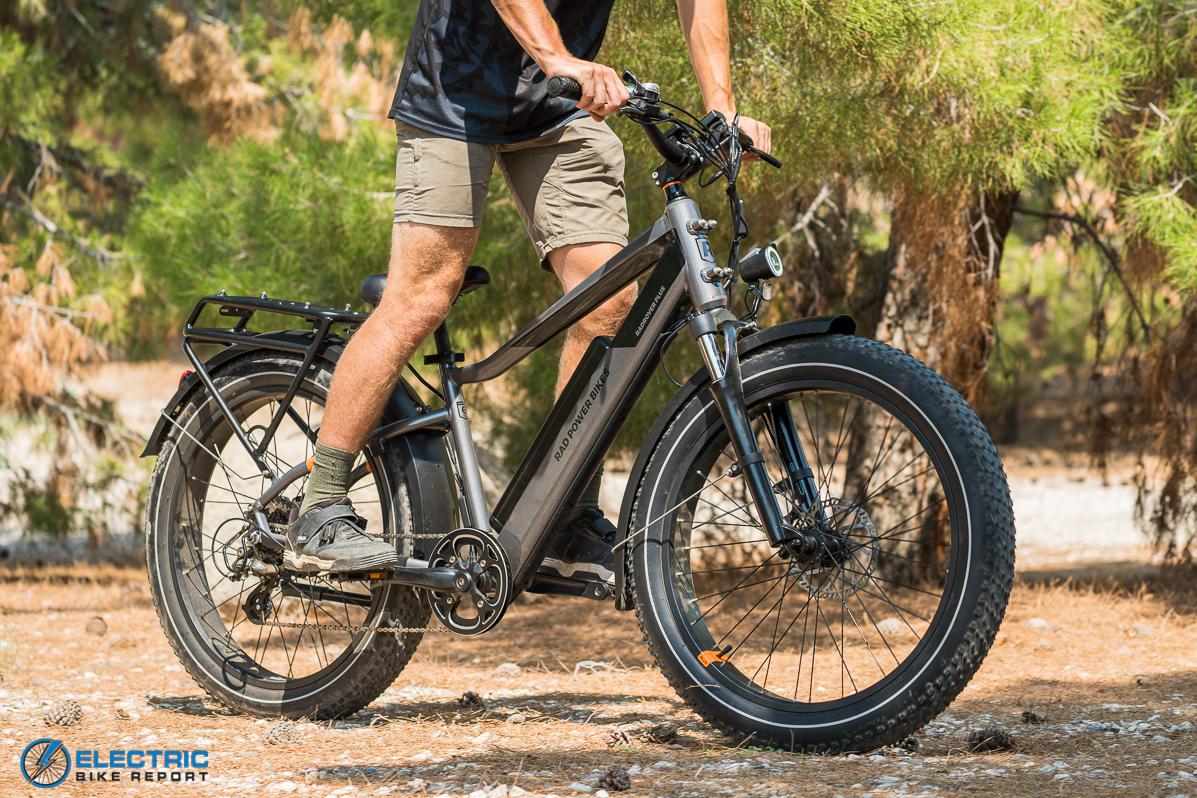 Rad Power Bikes Rad Rover 6 Plus Electric Bike Review Riding