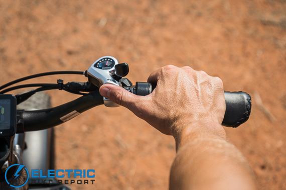 Rad Power Bikes Rad Rover 6 Plus Electric Bike Review Shifting