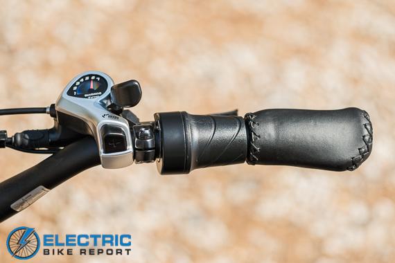 Rad Power Bikes Rad Rover 6 Plus Electric Bike Review Twist Grip Throttle