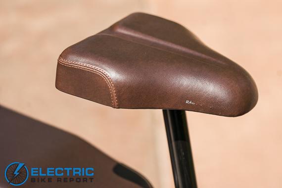 Rad Power Bikes RadRunner + Electric Bike Review Adjustable Saddle