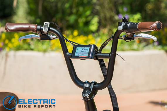 Rad Power Bikes RadRunner + Electric Bike Review BMX Handlebars