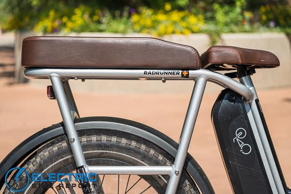 Rad Power Bikes RadRunner + Electric Bike Review Bench Seat