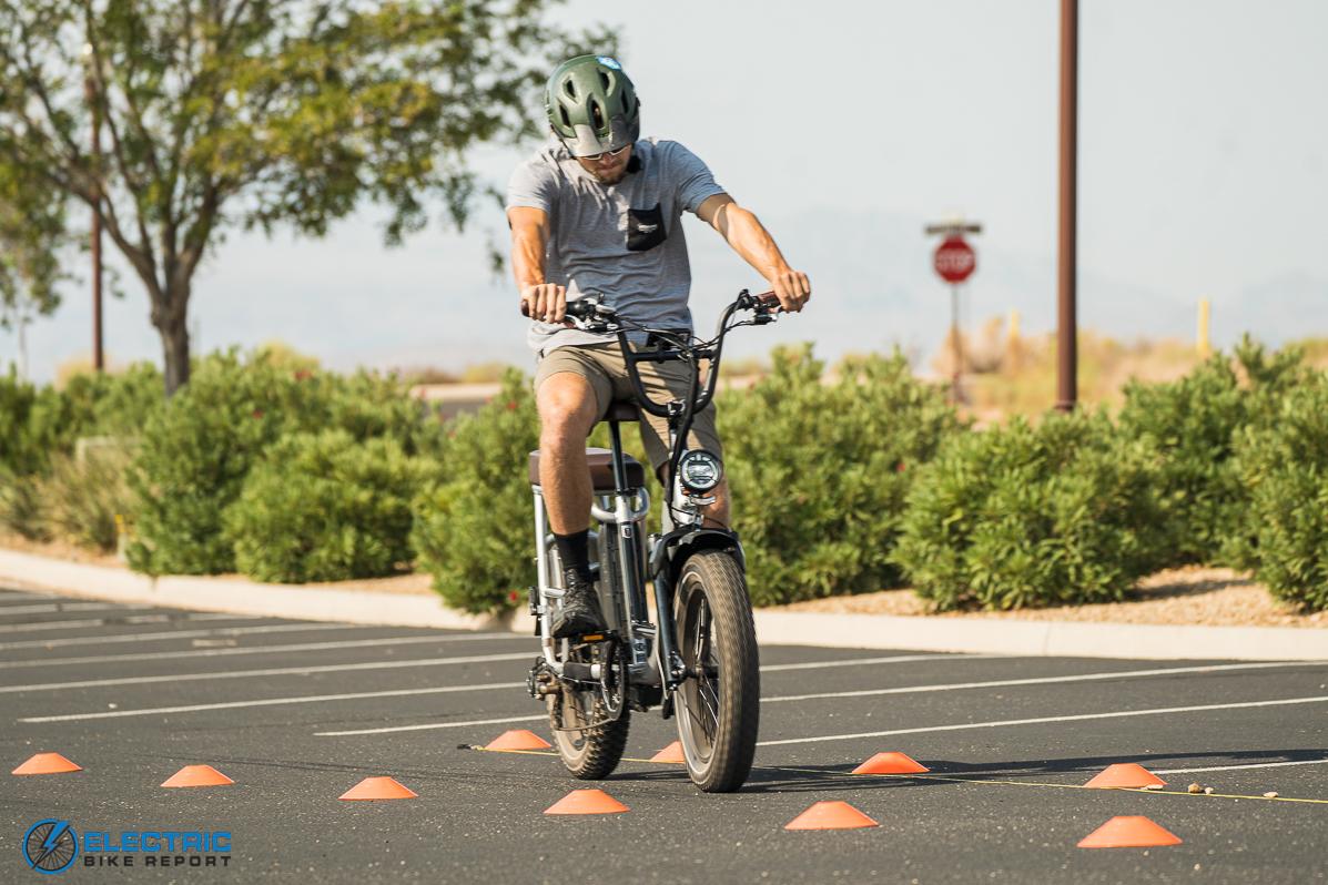 Rad Power Bikes RadRunner + Electric Bike Review Brake Test