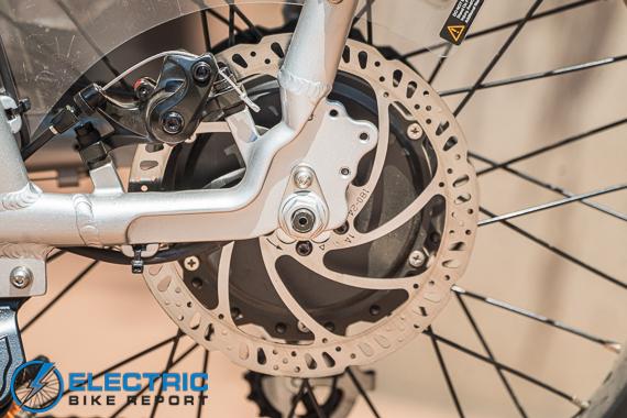 Rad Power Bikes RadRunner + Electric Bike Review Brakes