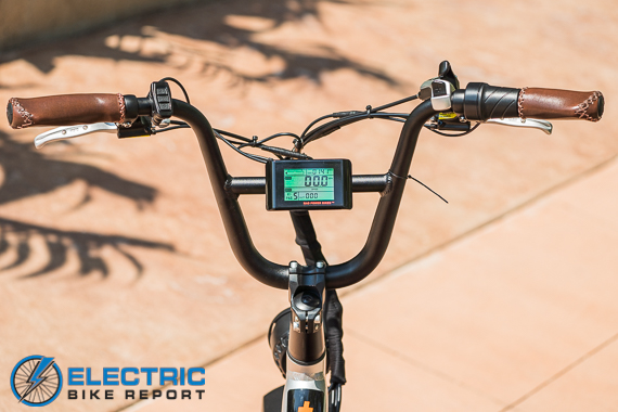 Rad Power Bikes RadRunner + Electric Bike Review Cockpit
