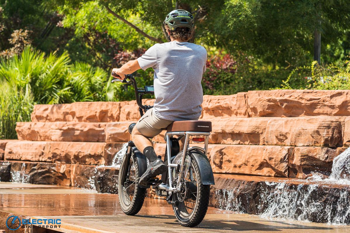 Rad Power Bikes RadRunner + Electric Bike Review Handling