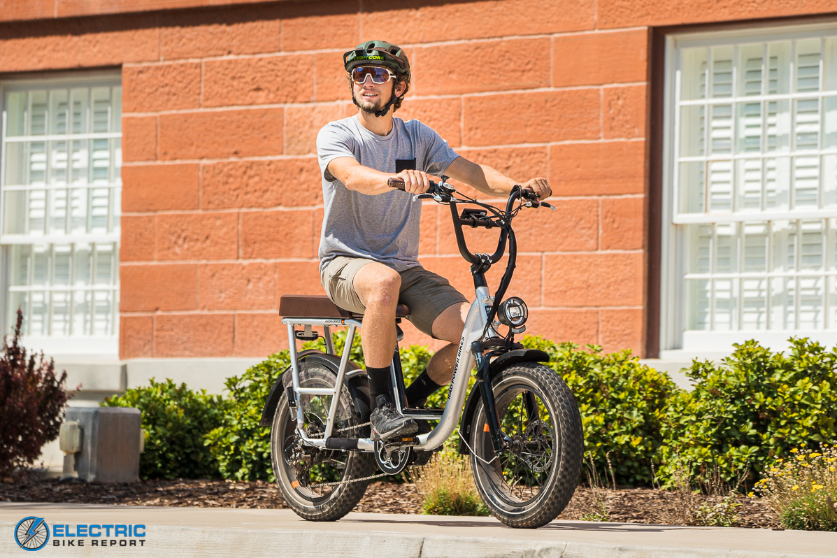 Rad Power Bikes RadRunner + Electric Bike Review Moped Riding