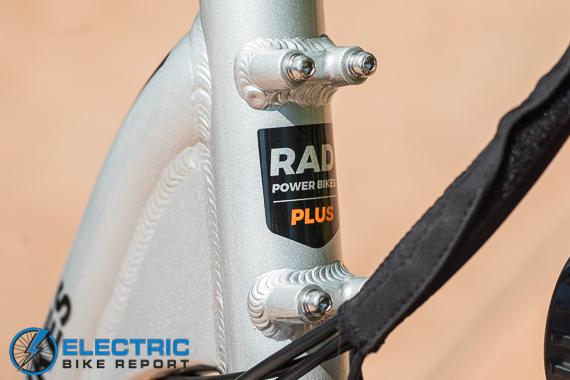 Rad Power Bikes RadRunner + Electric Bike Review Mounting Bosses