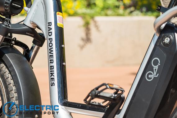 Rad Power Bikes RadRunner + Electric Bike Review Flip Pegs