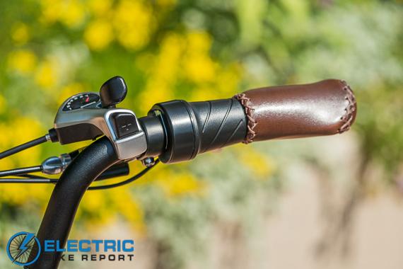Rad Power Bikes RadRunner + Electric Bike Review Twist Grip Throttle