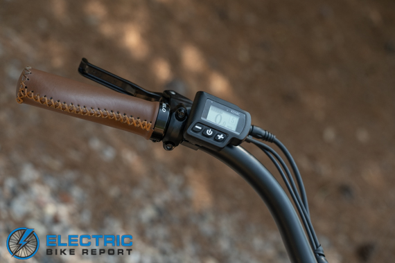 Tower Beach Babe Electric Bike Review LCD Display System