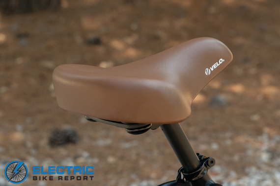Tower Beach Babe Electric Bike Review Saddle