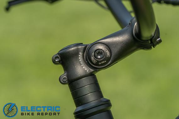 Tower Beach Bum Electric Bike Review Adjustable Handle Bars