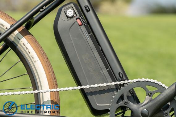 Tower Beach Bum Electric Bike Review Battery