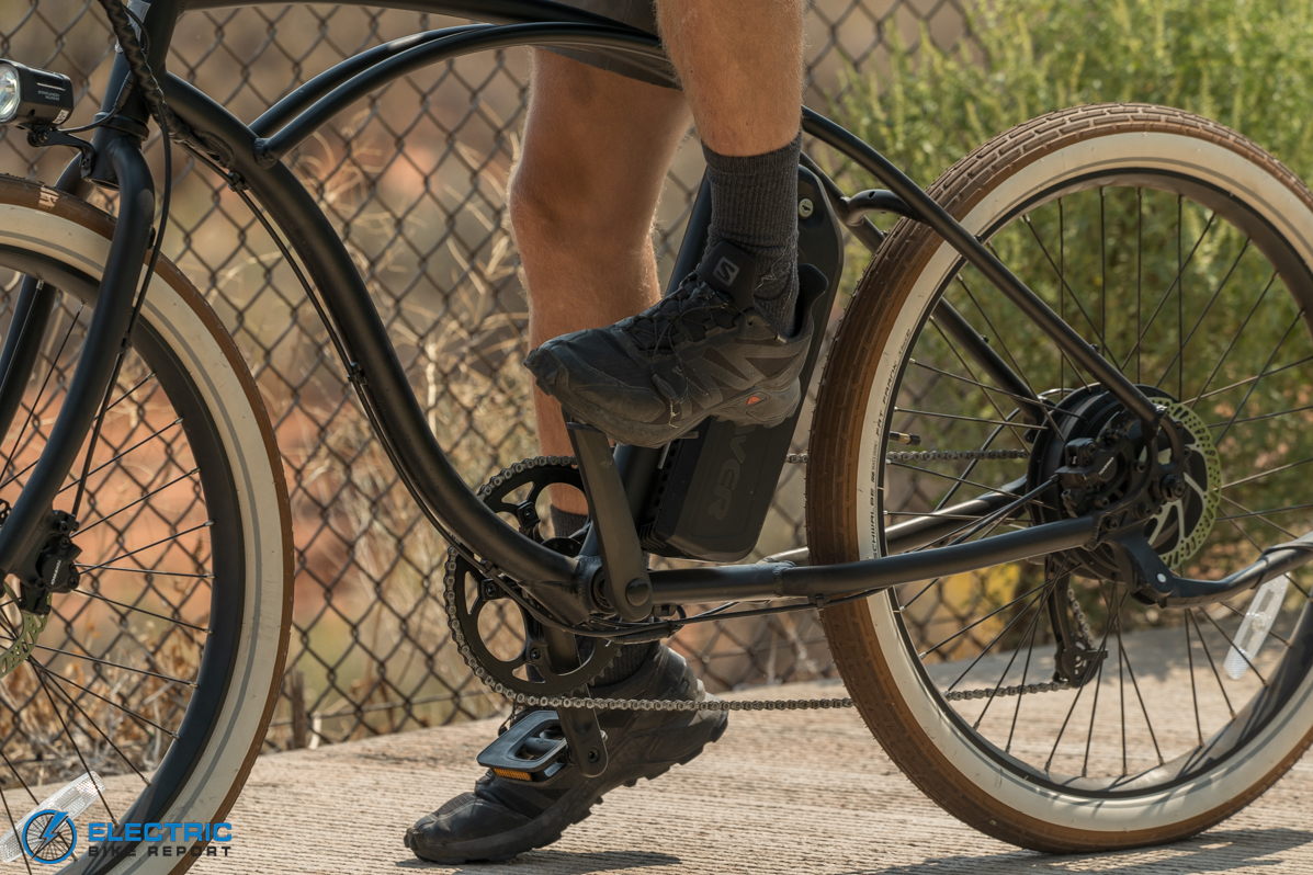 Tower Beach Bum Electric Bike Review Pedaling