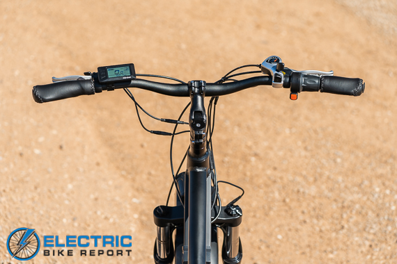 Turboant Thunder T1 Electric Bike Review Cockpit