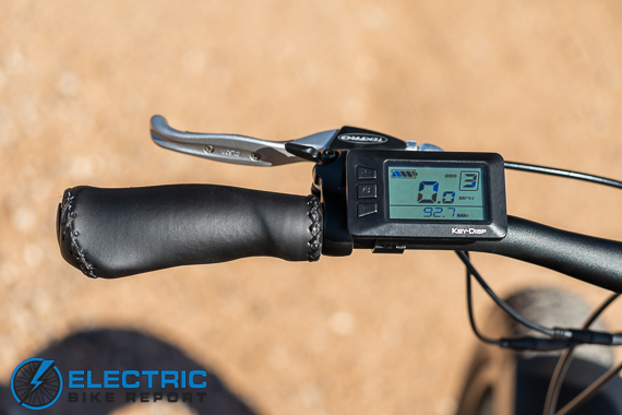 Turboant Thunder T1 Electric Bike Review Display