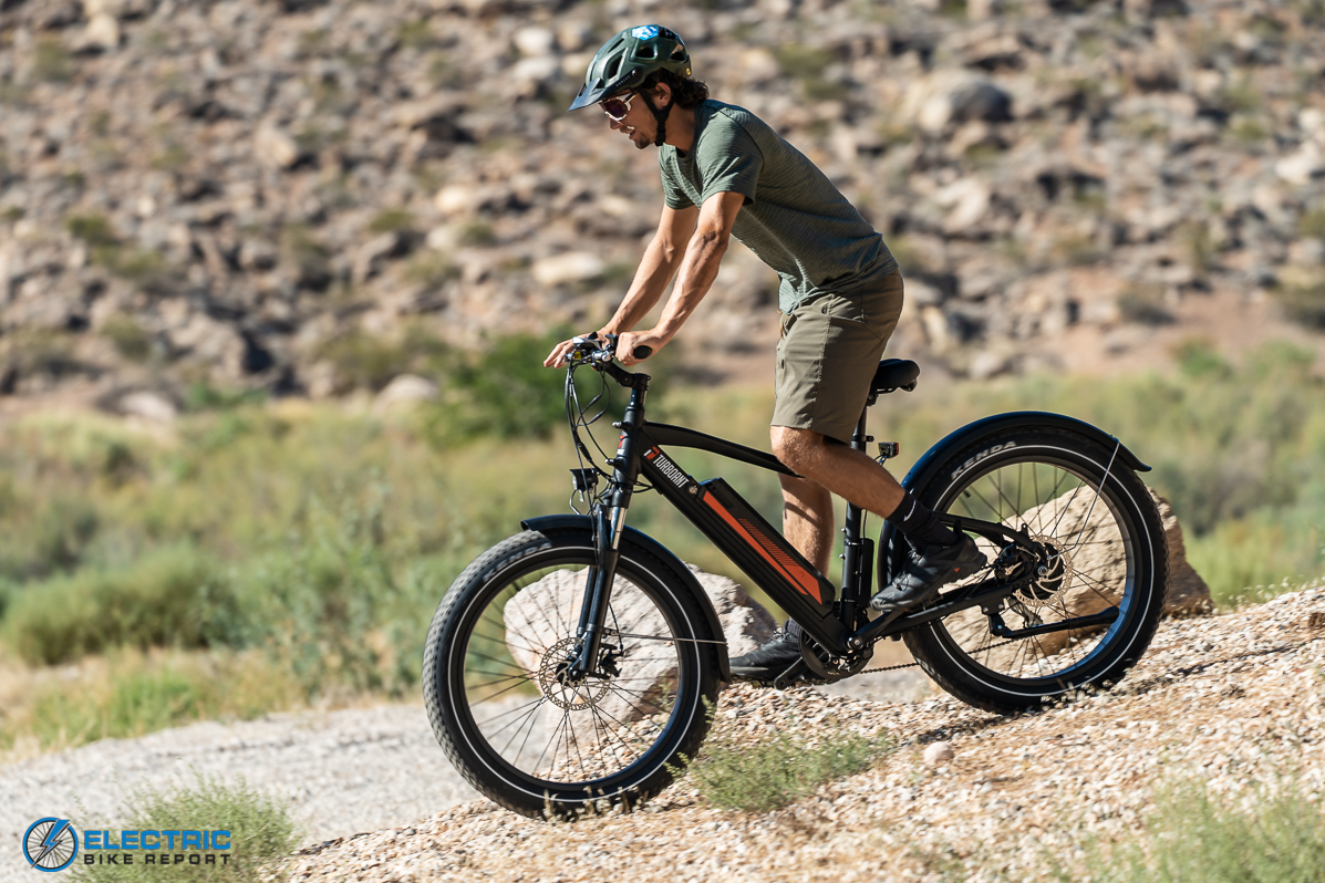 Turboant Thunder T1 Electric Bike Review  Handling