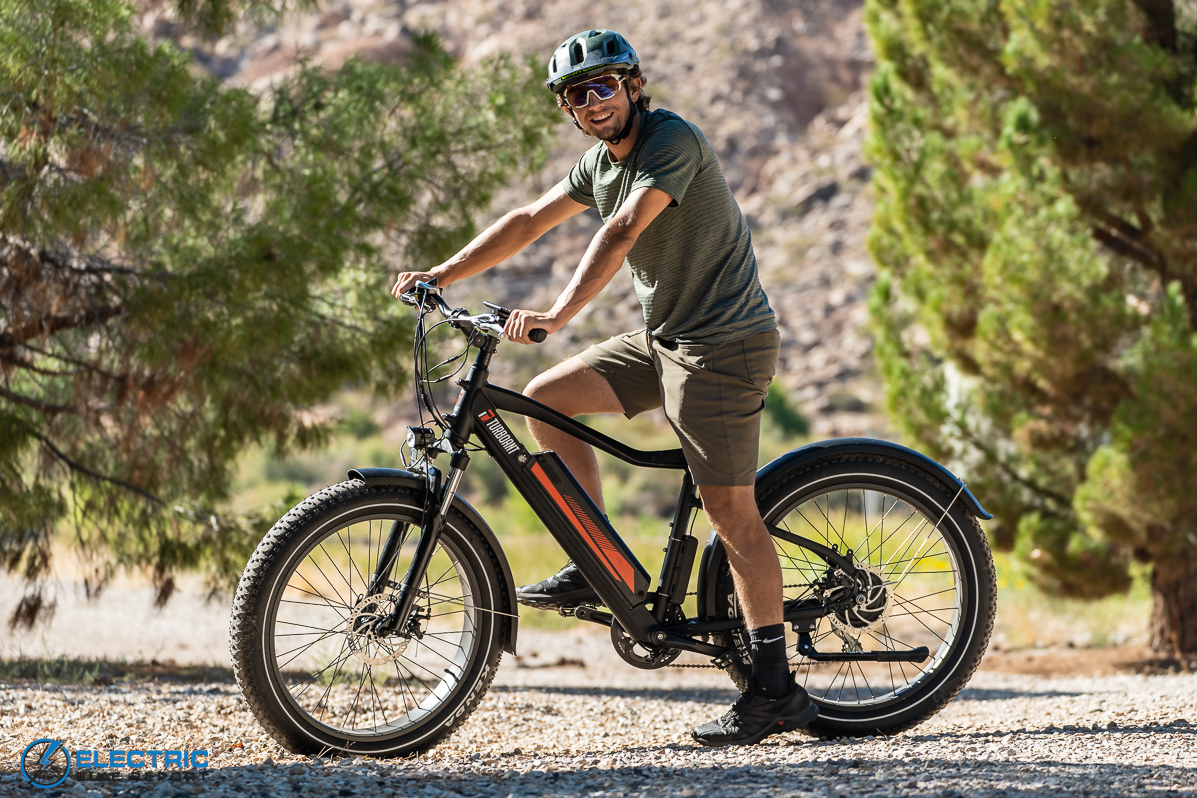 Turboant Thunder T1 Electric Bike Review Sizing and Geometry