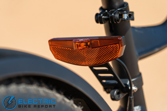 Turboant Thunder T1 Electric Bike Review Taillight