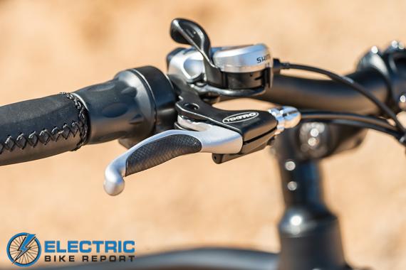 Turboant Thunder T1 Electric Bike Review Tektro Brakes