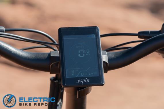 Espin Nesta Review ESPIN color LCD
