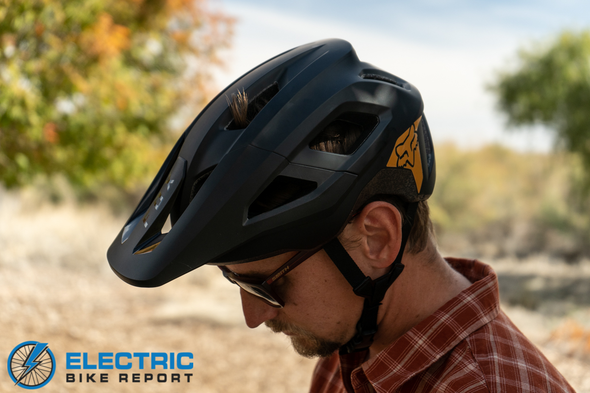 Fox Mainframe MIPS Helmet Review - side angle